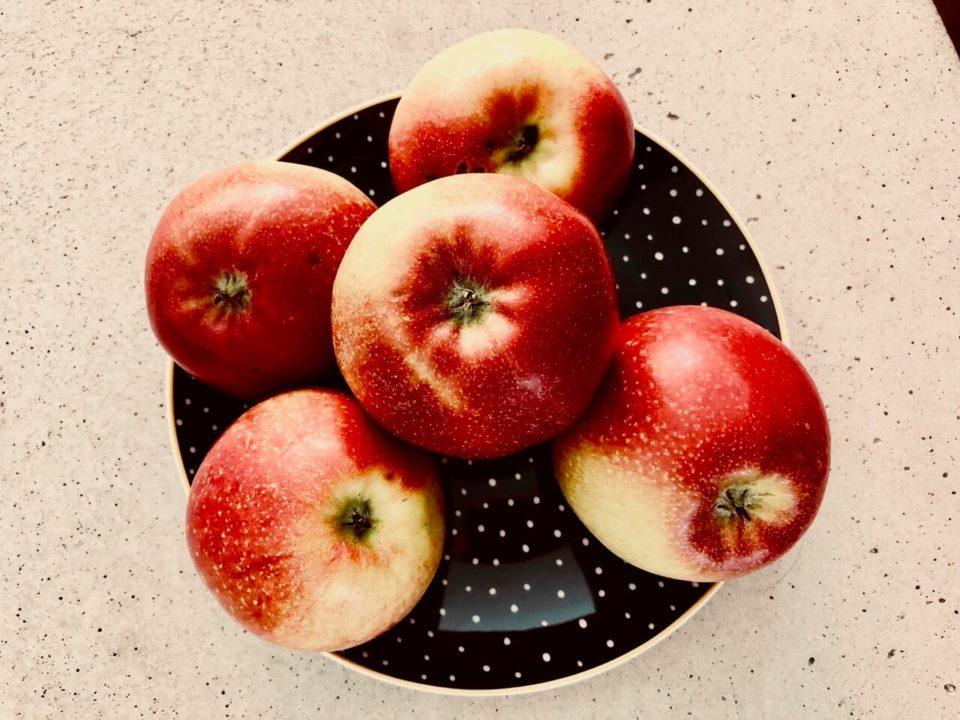Tarte-Tatin mit frischen Äpfeln